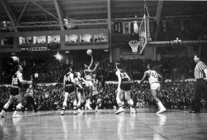 1963 NCAA tournament game between Miss. State University and Loyola (Chicago)